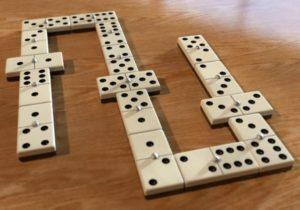 partida de dominó